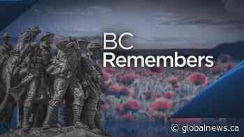 Remembrance Day 2020: BC Remembers Special