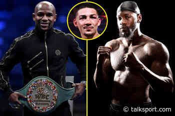 Teofimo Lopez calls Floyd Mayweather 'f****** crazy' and tells Deontay Wilder to 'stop complaining and acting - talkSPORT.com