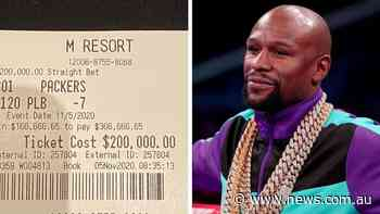 Flody Mayweather collects astronomical figure on single NFL bet - NEWS.com.au