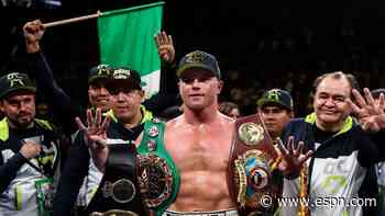 Canelo Alvarez is a free agent: Will he follow in Floyd Mayweather's footsteps? - ESPN