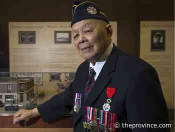 Letters to The Province, Nov. 12, 2020: Tribute to a hero — remembering George Chow