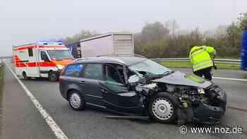 59-Jähriger bei Unfall auf der A1 bei Neuenkirchen-Vörden schwer verletzt - noz.de - Neue Osnabrücker Zeitung