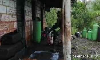 Destruyen laboratorio para el procesamiento de cocaína en El Peñol - Telemedellín