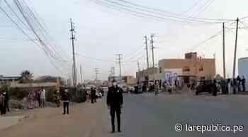 Cañete: evacuan a vecinos de San Vicente tras fuga de gas ocasionada por rotura de tubería   VIDEO - LaRepública.pe