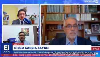 """García Sayán: """"Creo que se ha producido una irrupción en contra de la Constitución"""" - Radio Nacional del Perú"""