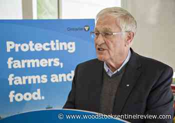 Ontario farmers get millions for COVID safety, robotics in budget: Hardeman - Woodstock Sentinel Review