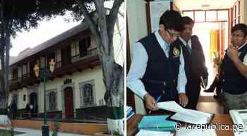 Moquegua: Fiscalía Anticorrupción interviene el municipio de Torata | denuncia - LaRepública.pe
