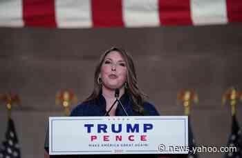 Trump endorses McDaniel to remain RNC chair, ponders 2024 run
