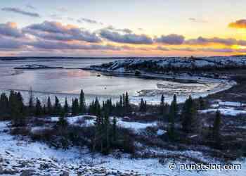 Sunset on the Kuujjuaq River - Nunatsiaq News