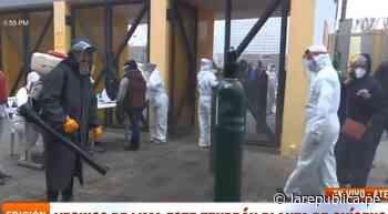 Coronavirus en Perú   Reparten oxígeno gratis en Ate estadio Ollantaytambo y se forman largas colas por el ins - LaRepública.pe