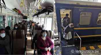 Cusco: Trenes transportan a ciudadanos varados en Machupicchu y Ollantaytambo   lrsd - LaRepública.pe