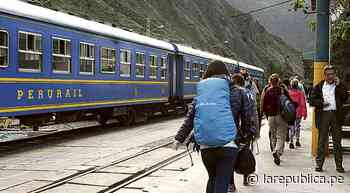 Cusco: Empresas ampliarán servicio de tren local en Ollantaytambo   lrsd - LaRepública.pe