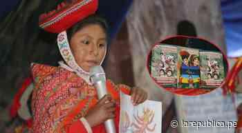Cusco: Niños de Ollantaytambo presentan libro en quechua sobre sus vivencias   lrsd - LaRepública.pe