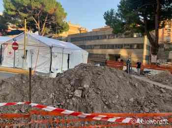 Genova, l'ospedale da campo al San Martino in ritardo: slitta l'apertura - Telenord
