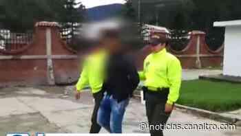 Capturan en Cucutilla un hombre por abuso sexual - Canal TRO