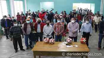 Rehabilitan casa ejidal en Calzada Larga - Diario de Chiapas