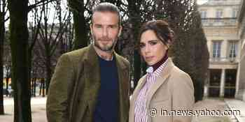 Victoria Beckham makes fun of David Beckham over his questionable footwear choice - Yahoo India News