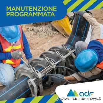 Orbetello, manutenzione programmata in località Polverosa - Maremmanews