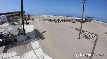 Arenamiento amenaza malecón de Puerto Eten LRND - LaRepública.pe