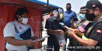 Entregan 10 mil protectores faciales en paraderos del Valle Chicama - La Industria.pe