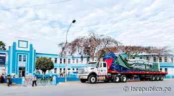 La Libertad: Llegó planta de oxígeno para valle Chicama valorizada en 220.000 dólares LRND - LaRepública.pe