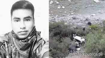 Un policía de Los Sinchis de Mazamari muere en accidente de tránsito LRSD - LaRepública.pe