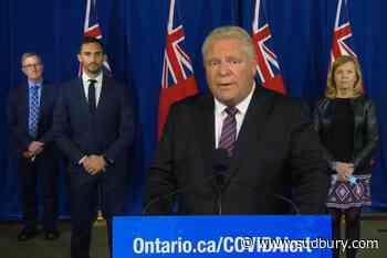 WATCH: Ford to make announcement after province reports record number of COVID cases