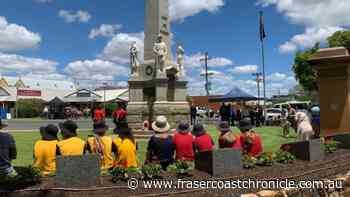 IN PHOTOS: Remembrance Day in Maryborough 2020 - Fraser Coast Chronicle