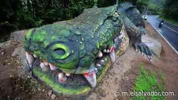 Las bestias gigantes de Panchimalco: Julio Hernández es el artista detrás de las impresionantes esculturas - elsalvador.com
