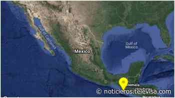 Se registra sismo de magnitud 5.0 en Ciudad Hidalgo, Chiapas - Noticieros Televisa