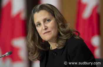 Senators question Freeland on transparency of aid package for troubled businesses