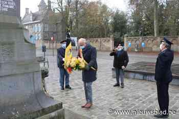 Sobere herdenking 11 november (Lo-Reninge) - Het Nieuwsblad