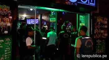 Jayanca: suspenden otorgamiento de licencias de funcionamiento para bares y prostíbulos LRND - LaRepública.pe