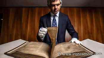 A record of Irish civilisation: the Book of Lismore returns to Ireland - The Irish Catholic