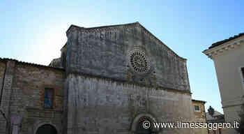 Amelia, chiesa di san Francesco chiusa per Covid. - Il Messaggero
