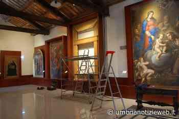 Amelia, Fondazione Carit finanzia restauro dipinto Pittore umbro Madonna con Bambino e Santi San Giovanni Battista e Francesco - Umbria Notizie Web