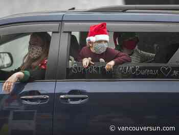 Christmas Bureau turns annual toy drive into toy drive-thru at PNE