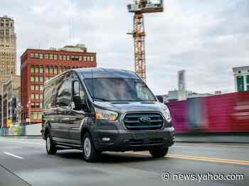 Ford just unveiled its $45,000 all-electric Transit van it says will be 40% cheaper to maintain than the gas-powered one