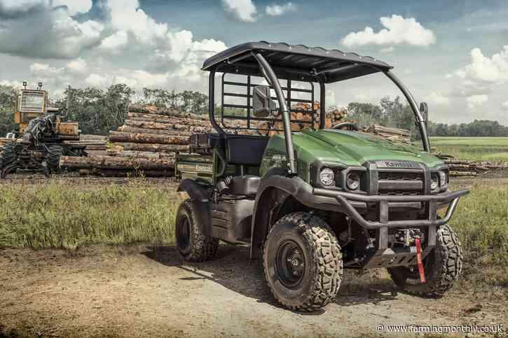 No job too big for the Kawasaki full 2021 MULE and ATV Range