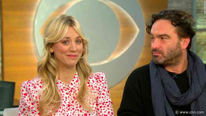 Kaley Cuoco talks filming 'Big Bang Theory' sex scenes with her ex - CNN