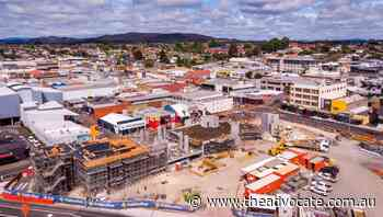 Devonport's waterfront precinct construction reaches halfway mark - The Advocate