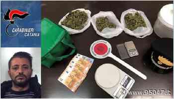BELPASSO: PRESO CON LA DROGA DA SPACCIARE - 95047