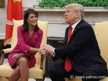 Nikki Haley, a high-profile Republican and possible 2024 presidential hopeful, has remained silent about Trump's unfounded election fraud claims