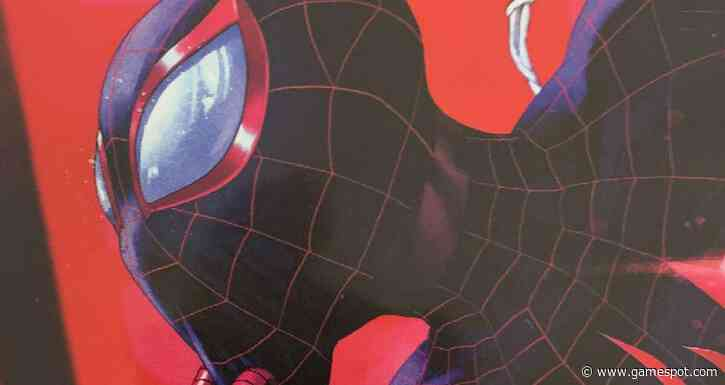 Spider-Man: Miles Morales Has A Lovely Reversible Cover