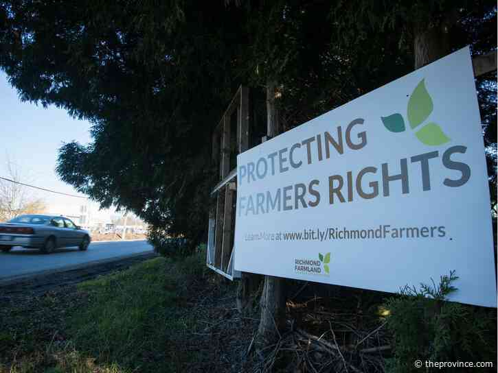 Dave Sands: Protecting our food security in British Columbia