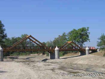 Lavori lungo il Percorso natura del Tiepido a Castelnuovo Rangone - Modena 2000