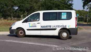 Navette laurentine : Elle fonctionne sur réservation à saint-laurent-de-la-salanque - L'Indépendant