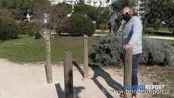 Attrezzi, cestini e tabelloni rotti: inciviltà nel parchetto - BrindisiReport