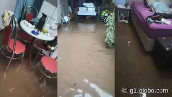 Chuva forte assusta moradores em Votorantim e Salto de Pirapora - G1