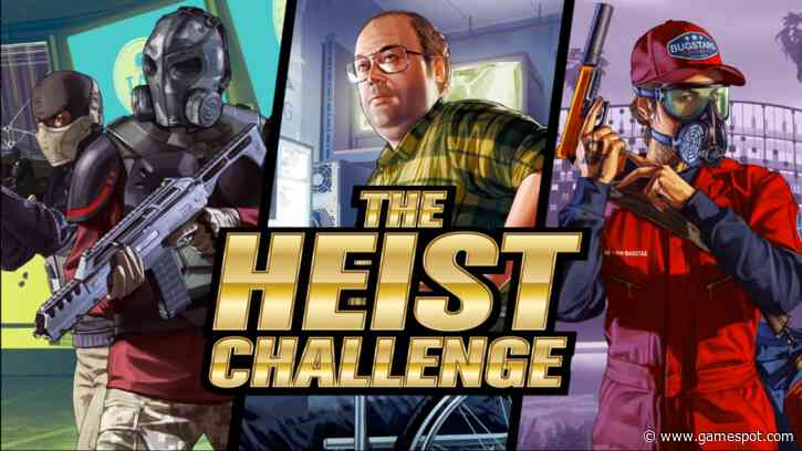 GTA Online Asks Players To Steal A Collective $100 Billion In New Heist Challenge